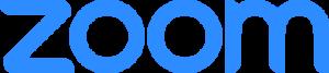 Zoom Blue Logo
