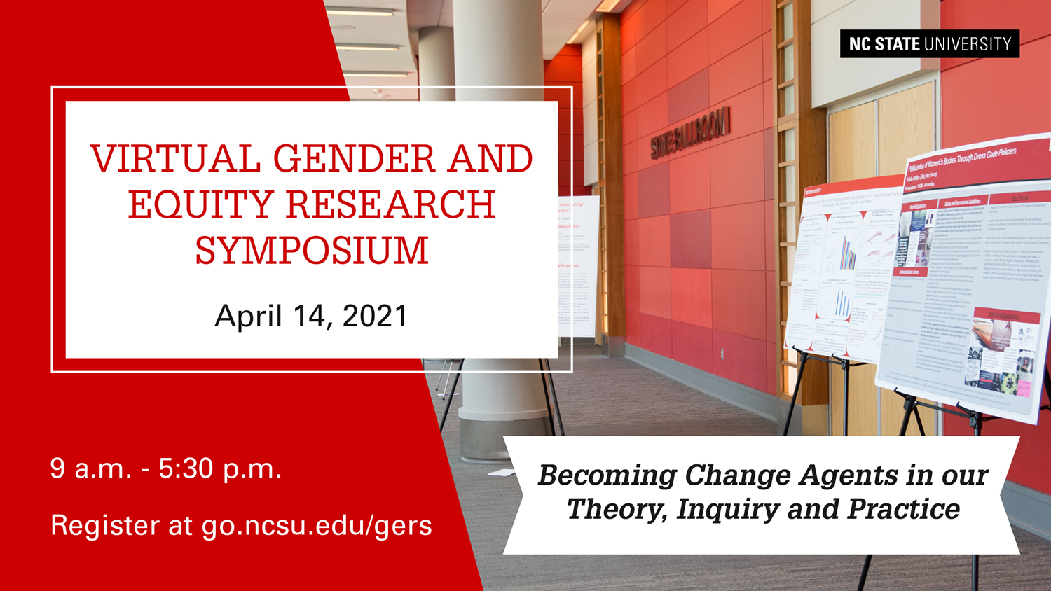 Gender and Equity Research Symposium, April 14, 2021