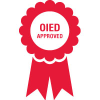 OIED Approved ribbon