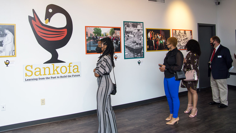 Sankofa Art Exhibit in the African American Cultural Center