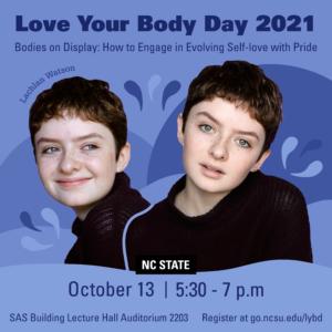 Love Your Body Day speaker Lachlan Watson